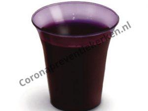 Avondmaalscups wijnrood