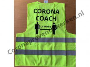 Hesje Corona Coach achterzijde